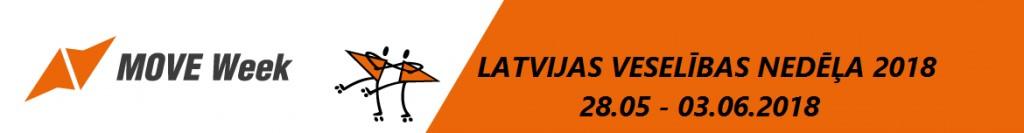 MoveWeek 2018: NowWeMOVE Latvijas Veselības nedēļa